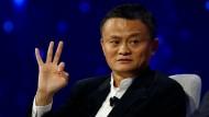 Ihm gelang mit seinem Konzern der Sprung von Platz 25 auf Platz 8: Alibaba-Gründer Jack Ma.