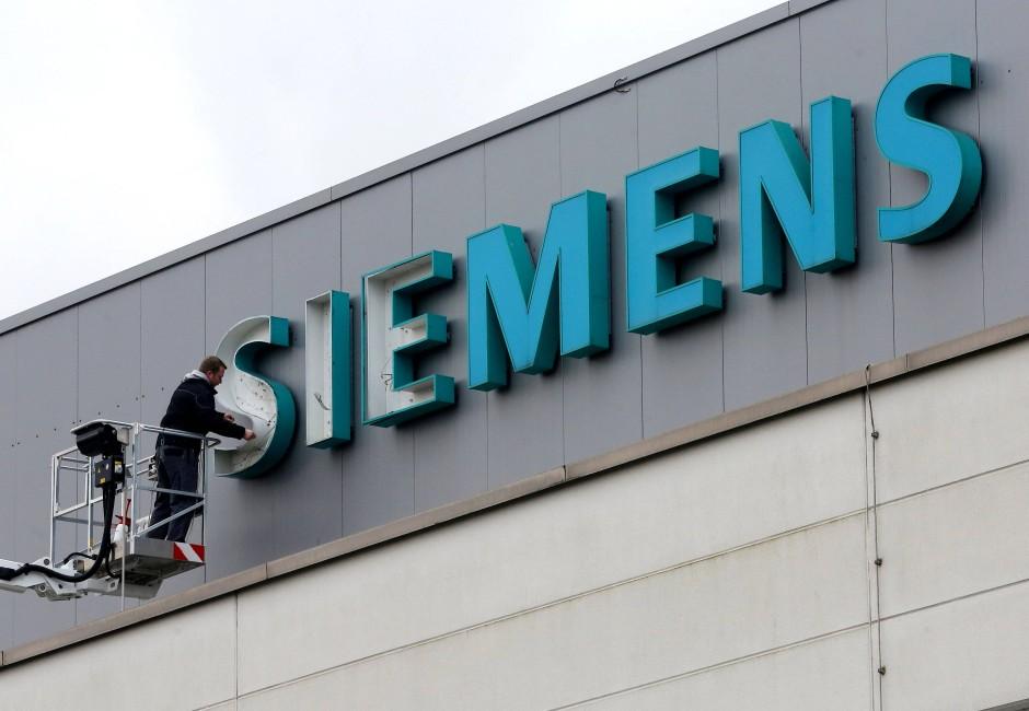 Schwer beschädigt? Siemens kämpft im Energiesektor mit der schlechten Auftragslage.