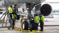 Der Flughafenbetreiber Fraport gab 1,6 Millionen Mitarbeiteraktien aus.