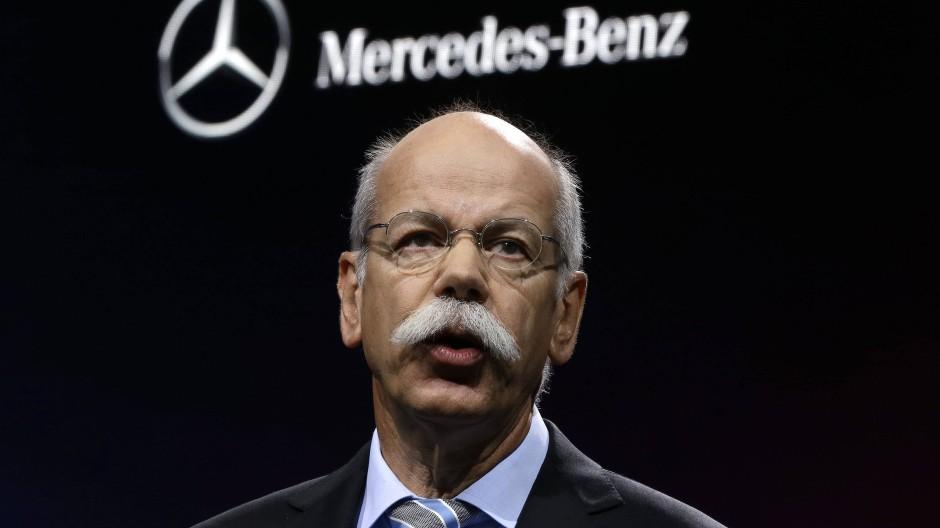 """Will auf der """"Me Convention"""" zeigen, dass Mercedes Zukunft kann: Konzernchef Dieter Zetsche"""