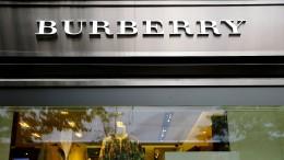 Burberry zerstört eigene Waren im Wert von 32 Millionen Euro
