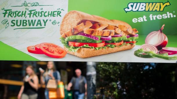Skandal und schlechte Geschäfte verhageln Subway das Jubiläum