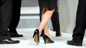 Konzerne tun sich noch immer mit Frauen schwer