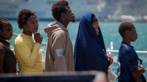 Italien verlangt Soforthilfe für Flüchtlinge