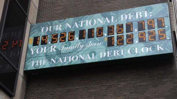 Ihre Staatsschuld rechnen die Amerikaner lieber klein