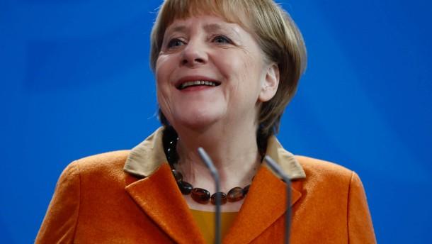 Führungskräfte halten Merkel für unschlagbar