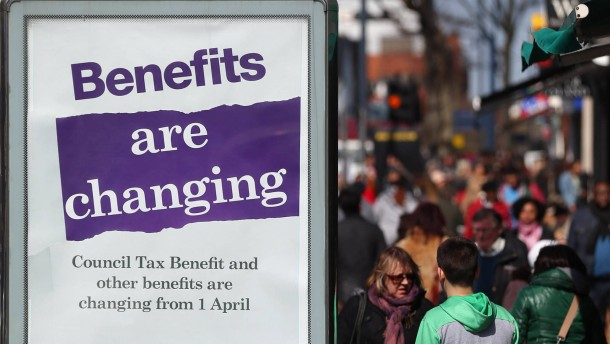 Government Changes To The Welfare And Benefit System Take Effect