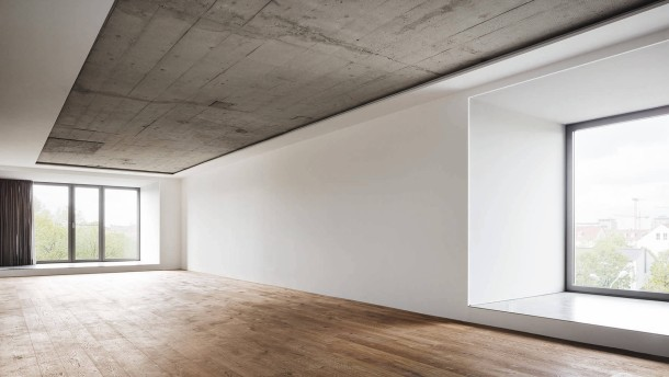 Bunker als Wohnhaus