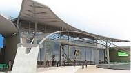 Die Maponya Mall in Soweto - ein Musterbeispiel für die neuen Shoppingcenter in Südafrika.