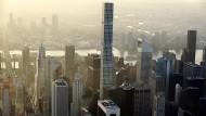 Der Luxusturm 432 Park Avenue bietet seinen milliardenschweren Bewohnern den besten Blick – wenn er dabei doch nur nicht so schaukeln würde.