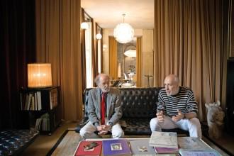 Hüter der Casa Mollino: Fulvio Ferrari und sein Sohn Napoleone