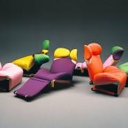 """Japanische Designer können nicht nur minimalistisch: """"Wink Chair"""" von Toshiyuki Kita"""