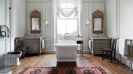 Aussagekräftig: In britischen Landhäusern verraten Bad und Toilette mehr über die Familie und Persönlichkeit der Bewohner als der Rest des Hauses.