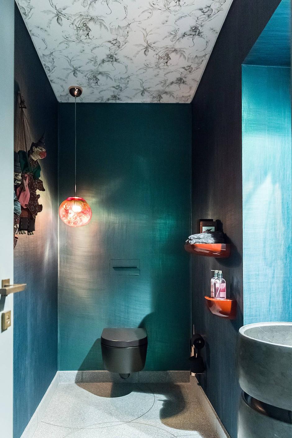 Mit Konzept: Interior Designerin Doortje Moritz gestaltet WCs originell-elegant.