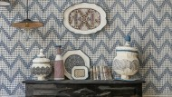 Handbemalt und exklusiv: Dank verspielter Muster wird das Smart Home zum intimen Boudoir.