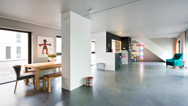 fertigh user loft statt landhaus wohnen faz. Black Bedroom Furniture Sets. Home Design Ideas