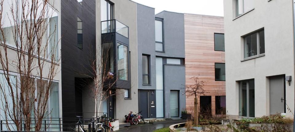 Wohnen In Der Zweiten Reihe Bauboom Im Hinterhof Planen Faz