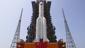 China startet Bau seiner Raumstation