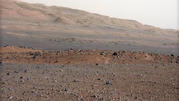 Methan in Meteoriten entdeckt