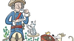 Ein Tässchen Kaffee am Wegesrand