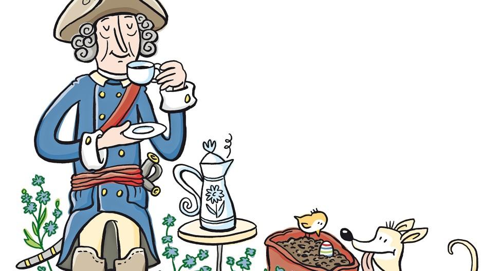 Friedrich der Große; Zichorienkaffee