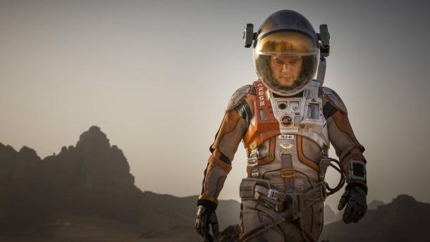 Science und Fiction auf dem Mars