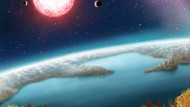 Paradiesischer Exoplanet