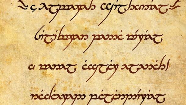 """Sandarin, """"Hymne an Elbereth"""", Tolkin, Herr der Ringe"""