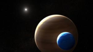 Der erste Mond jenseits unseres  Sonnensystems?