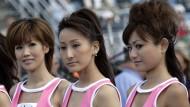 Grid Girls im Motorsport in Japan