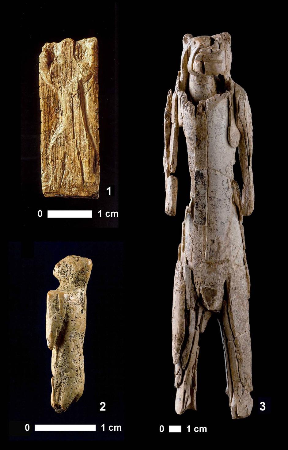 Die erste Tier-Mensch-Chimäre: Der Löwenmensch.
