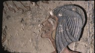 So trugen die Royals das Haar. Echnatons älteste Tochter Meritaton