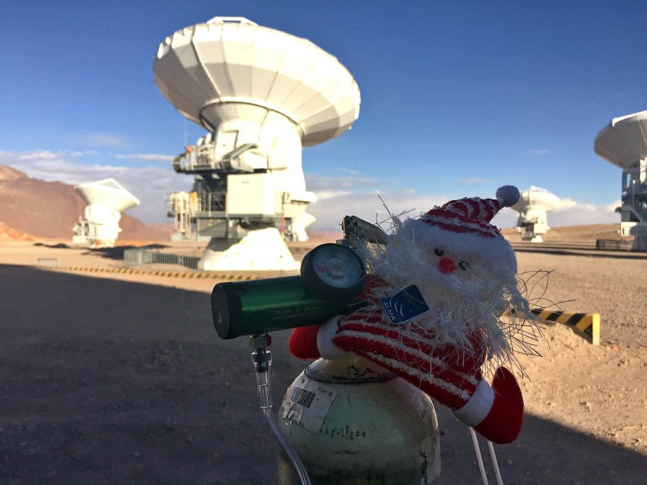 Weihnachten  in 5000 Metern Höhe