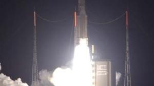 Arianespace-Chef feiert Weltrekord