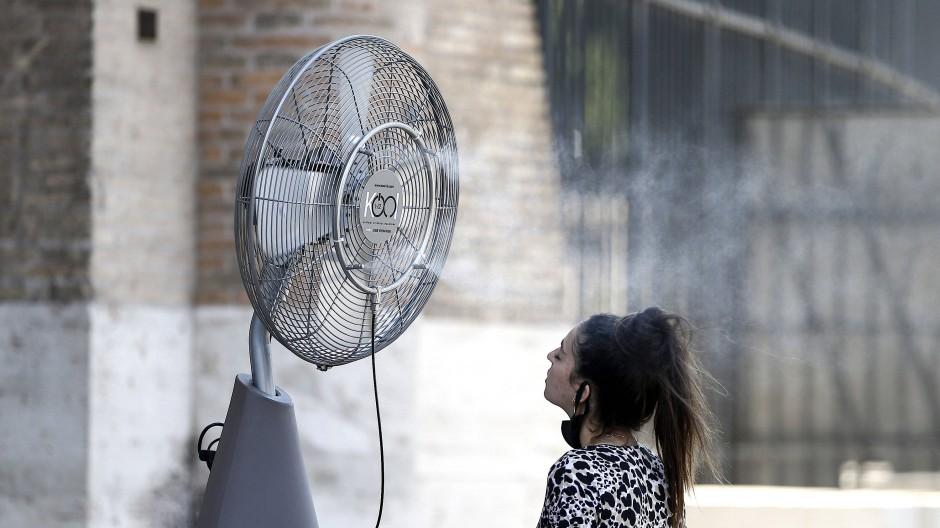 Hitzewelle in Italien vor wenigen Wochen.