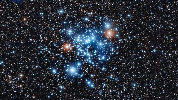Foto Eso, Sternhaufen NGC 3766