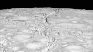 Der Nordpol von Enceladus