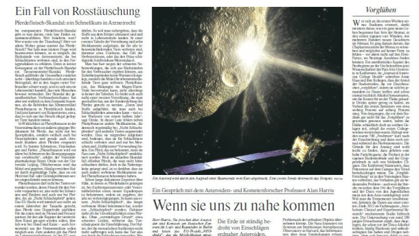 NuW von Mittwoch, den  20.02.2013
