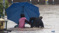 Nairobi, März 2018: Schwere Überflutungen.