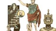 Gute Kaiser - schlechte Kaiser: Palpertine, Franz Joseph von Österreich-Ungarn, Wilhelm II. Zar Nikolaus II., Augustus, Karl der Große
