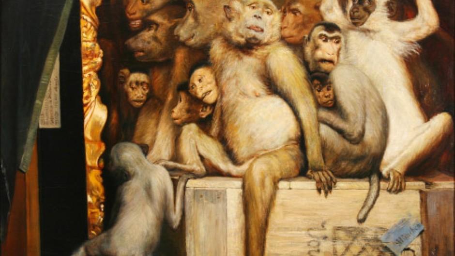 Gabriel von Max: Kunstrichter. o.J.
