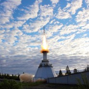 Start von Marpheus-8 am frühen Morgen des 13. Juni 2019 vom Startplatz im schwedischen Kiruna.
