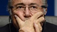 Der Boss: Fifa-Präsident Sepp Blatter