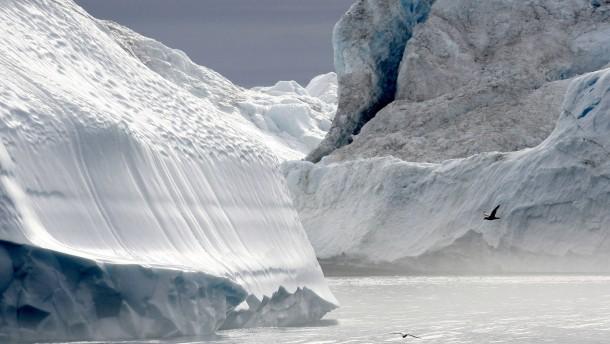 Die salzfreie Zeit im Polarmeer
