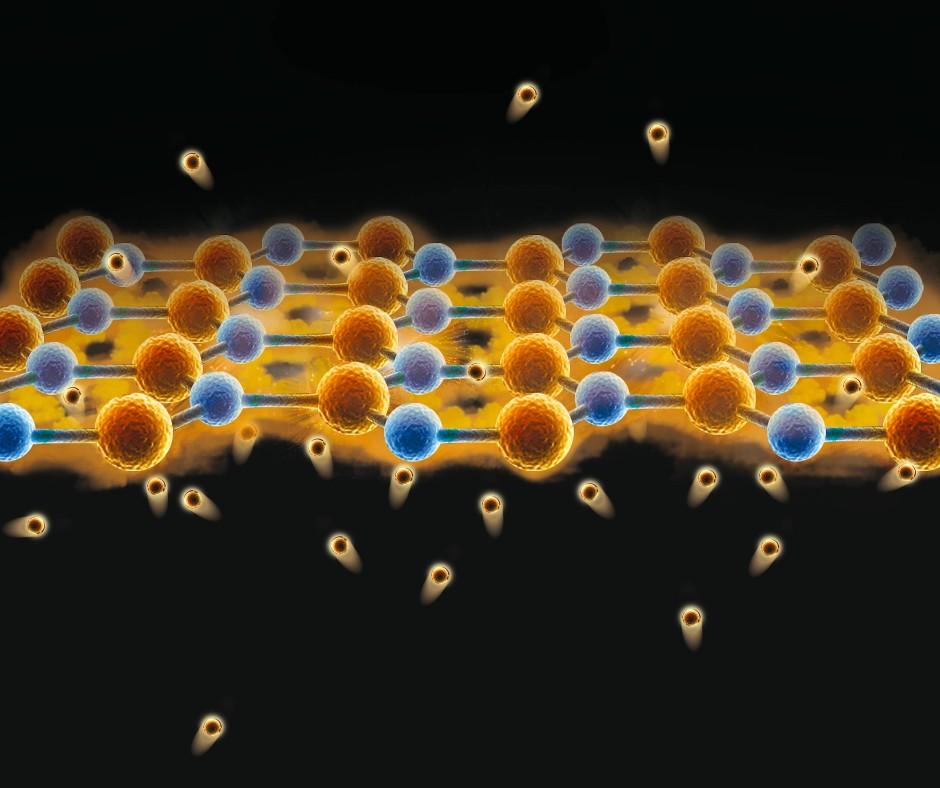 Eine Monolage Graphen wird zur perfekten Membran. Sie lässt nur Wasserstoffkerne durch und blockiert den Transfer selbst keinster Moleküle.