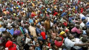 Die Bevölkerungsexplosion wird afrikanischer