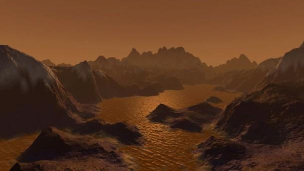 Saturnmond Titan ein riesiges Kraftstofflager