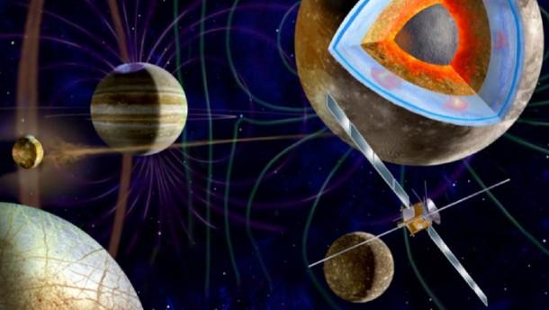 Jupitersonde Juice: Natur und Wissenschaft, Raumfahrt, Weltraum, Esa