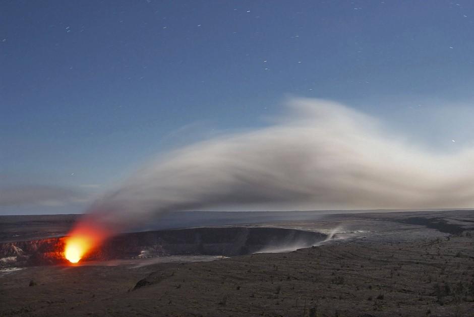 Mauna Kilauea auf Hawaii