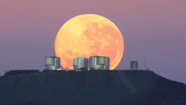 Very Large Telescope, Eso: Natur und Wissenschaft, Weltraum
